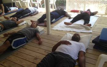 Veterans suffering from PTSD are finding healing through yoga instead of relying solely on prescription drugs and psychotherapy. (Warriors at Ease)