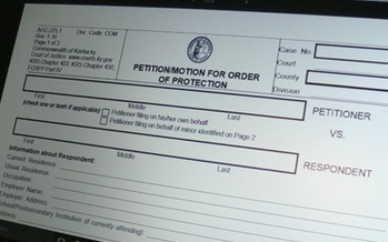 Dating couples in Kentucky can now seek emergency civil protections from intimate-partner violence. (Greg Stotelmyer)