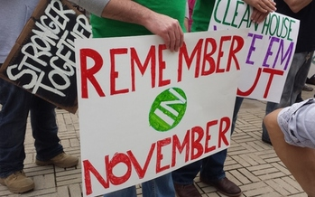 Angry with the direction of the legislative session, many West Virginians say they are organizing to have their voices heard during the next election. (Dan Heyman)