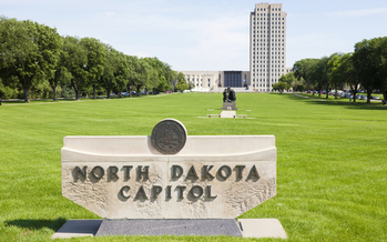 The North Dakota State Capitol is showcasing dozens of local businesses for Pride of Dakota Day. (iStockphoto)