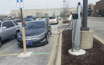 Indianapolis came in 13th out of 25 major cities in a study of how ready they are to accommodate a surge in numbers of electric vehicles on the road. (Veronica Carter)