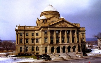Luzerne County fired its chief public defender after he sued on behalf of defendants.  (Paco36/Wikimedia Commons)