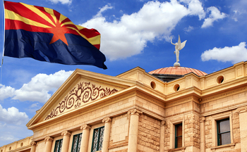 The Arizona Legislature, currently meeting in the state Capitol, is close to approving a bill that would make it easier to cut off funding for Planned Parenthood and other abortion providers in the state. (DustyPixel/iStock)