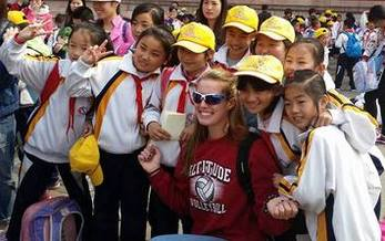 A group of Indiana students got to take an educational trip to China. They say they came back realizing kids in both countries are very much the same. (Veronica Carter)