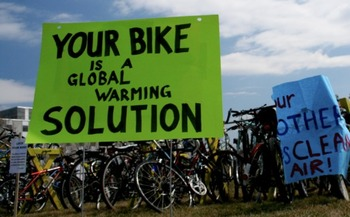 Everyone can help reduce global climate change. (Tony Webster/Flickr)