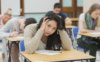 As part of Stress Awareness Month, state health officials are reminding parents and educators that the end of the school year can be a stressful time for some students. (iStockphoto)