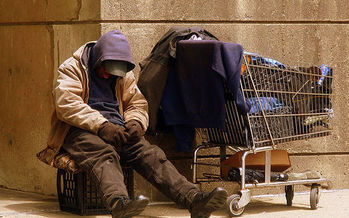 A group of homeless people or those who have been homeless are lobbying in Jefferson City today. (Matthew Woitunski/Wikimedia Commons)