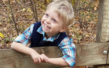 Hunter Erb was diagnosed with multiple congenital heart defects when he was three days old. (Stephanie Erb)
