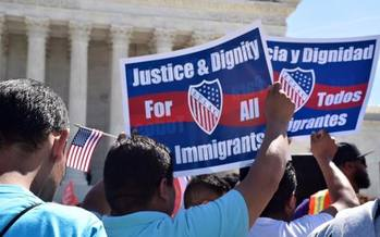 Immigrants, workers, students and faith groups will rally on Sunday, calling for respect and tolerance for all Floridians. (T. Kennedy/Florida Immigrant Coalition)