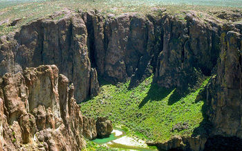 The Owyhee Canyonlands cover more than 2 million acres in southeast Oregon near the Idaho border. (Bureau of Land Management Oregon and Washington)