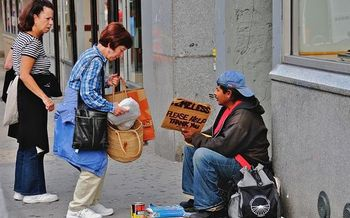 The number of homeless in CT has dropped 4 percent since 2007.  (Ed Yourdon/Wikimedia Commons)