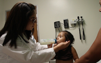 Undocumented children will become eligible for full Medi-Cal coverage starting Monday. (Carolina Quezada/NACHC)