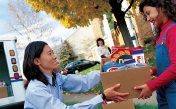 People are encouraged to leave nonperishable foods next to their mailbox this coming Saturday. (USPS)