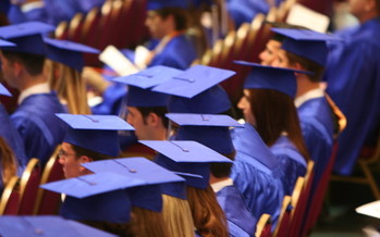 While the national high school graduation rate is around 82 percent, a new study finds Florida lags behind at just 76 percent. (hmm360/morguefile)
