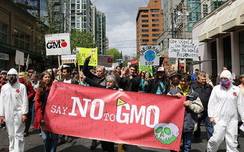 This Saturday, several Pennsylvania cities join GMO protests planned in 36 countries on six continents. (Rosalee Yagihara/Wikimedia Commons)