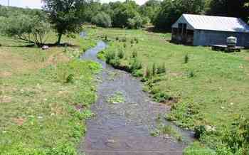 Environmentalists say many of Wisconsin's small, clean streams are drying up because of high-capacity wells used to provide water for huge factory farms. (USGS-WI)