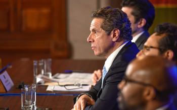 Gov. Andrew Cuomo's bills cap LLC contributions at $5,000. (Gov. Andrew Cuomo/flickr.com)