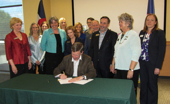 A new law designed to improve the efficiency and effectiveness of food assistance in Colorado was signed last week by Gov. John Hickenlooper. (Hunger Free Colorado)