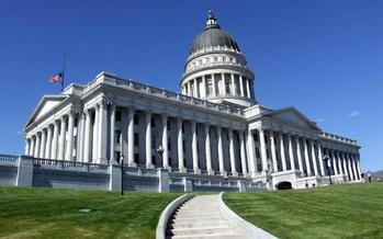 Pro-business policies from the State Capitol might have helped rank Utah highly in a new survey of state economies. (Wikimedia Commons)
