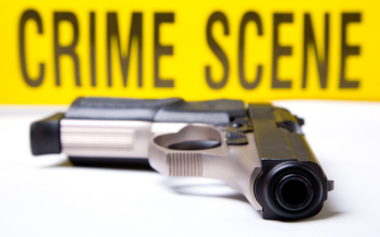The L.A. City Council voted Wednesday to have L.A.P.D. work with a nonprofit to identify shady gun dealers. (Rich Legg/iStockphoto)