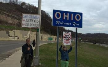 National Day of Action on fracking events will be held in over a dozen Ohio communities on Tuesday. <br />(Frackfree America)