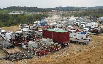 About 1.5 million Pennsylvanians live within a half mile of an oil or gas facility. (USGS/Wikimedia Commons)