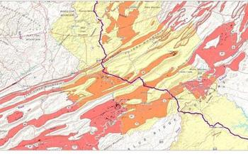 A study of the geology along the proposed Mountain Valley Pipeline route shows it would run through a fragile, karst