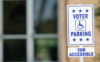 As part of National Disability Voter Registration Week, South Dakota election officials are being encouraged to make sure polling places can accommodate people with disabilities ahead of the November election. (iStockphoto)