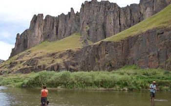 A new study finds recreation in the Owyhee Canyonlands area generates $70 million annually for local economies. (Emily O�Casey)