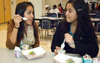 Legislation currently under debate in Congress could force schools to reapply in order to participate in free meal programs. (USDA)