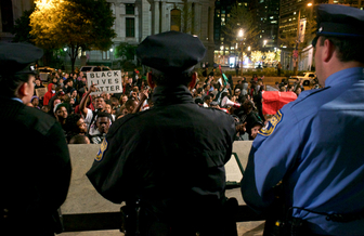 Rights groups in Dallas want to keep the focus on ending police violence against blacks. (Slabbers/iStockphoto)