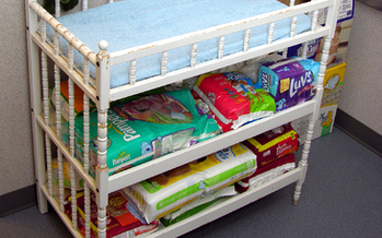 Congress is considering legislation that would help families afford the cost of diapers. (phaewilk/morguefile)
