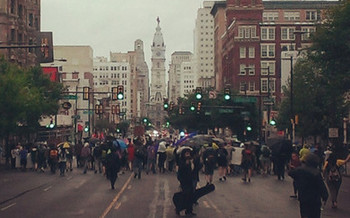 Protestors plan to march from Philadelphia City Hall to the Wells Fargo Center, where the DNC is being held. (March4ourlives2016.org)