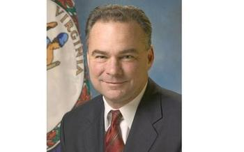 Many Virginia progressive groups are praising Hillary Clinton's vice-presidential pick, Sen. Tim Kaine of Virginia.