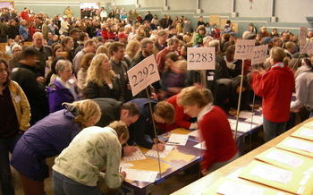 The commission also would increase elegible voters in party caucuses. (Joe Mabel/Wikimedia Commons)
