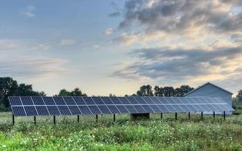 A new report ranks North Carolina in fifth place in solar per capita in the nation. (Morguefile.com)