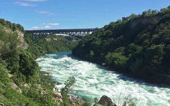 The group Buffalo Niagara Riverkeeper monitors water quality at 11 locations along the Niagara River. (Buffalo Niagara Riverkeeper)