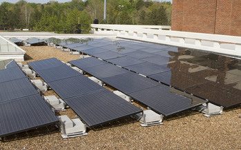 A new study finds Virginia's commercial owners and occupants could realize tens of millions of dollars in annual savings on their electric bills by implementing the Clean Power Plan. (University of Richmond)