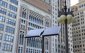 A move to bring more energy efficiency, including solar power, to Illinois under the Clean Power Plan could save commercial building owners millions of dollars by 2030, according to new research. (iStockphoto)