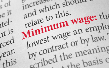 A new analysis argues that the federal minimum wage would be about $10 higher if it were tied to gains made in worker productivity. (iStockphoto)
