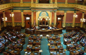 Democrats would need to win nine seats to regain power in the Michigan House of Representatives. <br />(Steve and Christine/Wikimedia)