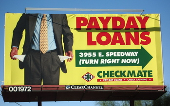 A new report slams abuses in the payday and car-title loan industry. (Kelly Griffith/Center for Economic Integrity)