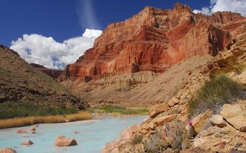 The public comment period ends Sept. 3 on a plan to build a gondola to the bottom of the Grand Canyon. (Thomas O'Keefe)