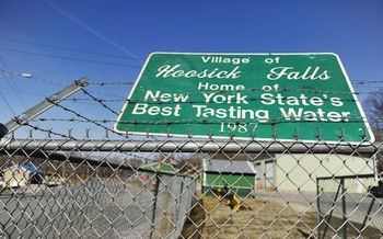 Tests of Hoosick Falls water found the chemical PFOA at concentrations far above EPA safe levels. (Michelle Baker)