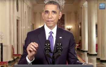 President Obama announces his immigration reforms in November 2014. (The White House)