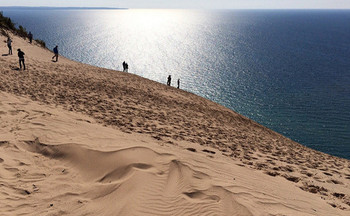 There are more than 3.6 million acres of national land in Michigan, including Sleeping Bear Dunes National Lakeshore. (Ken Bosma/Flickr)