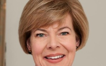 One of the speakers at the grassroots progressive Fighting Bob Fest in Wisconsin next weekend will be U.S. Sen. Tammy Baldwin. (Official U.S. Senate photo)
