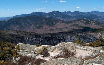 The candidates for president are being asked to take a stand in support of public lands such as the White Mountain National Forest, which is among the most popular in the nation. (Ken Gallager/Wikimedia)