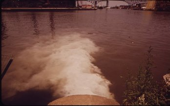 Project Clean Lake aims to eliminate more than 4 billion gallons of raw sewage discharged annually into Lake Erie by 2036. (U.S. National Archives and Records Administration)