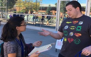 Arizona PIRG Education Fund is helping register new voters on college campuses, part of National Voter Registration Day today. (AZ PIRG Education Fund)